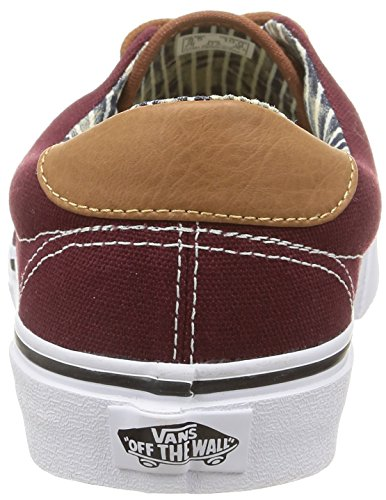 59 Era Unisex Rojo Baja Zapatilla amp;l Royale Port Stripe Adulto C Denim Vans H15wBqd1