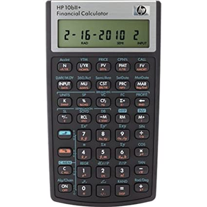 amazon com hp 10bii financial calculator office products rh amazon com hp 10bii plus financial calculator manual hp 10b financial calculator manual