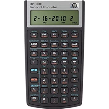 Amazon.com : HP 10bII Financial Calculator : Office Products