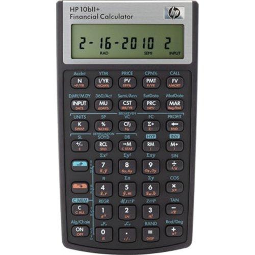 Hewlett Packard HP10BII+ Finanzmathematischer Taschenrechner
