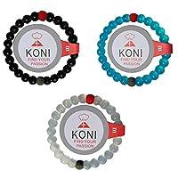 KONI Silicone Passion Attraction Balance Bracelet Medium (7.5')