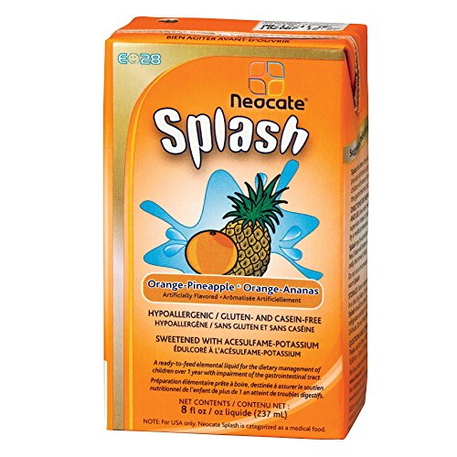 E028 Splash, Orange-Pineapple, 237 mL (Case of 27)