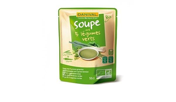 SOPA 5 VERDURAS VERDES SOBRE: Amazon.es: Alimentación y bebidas