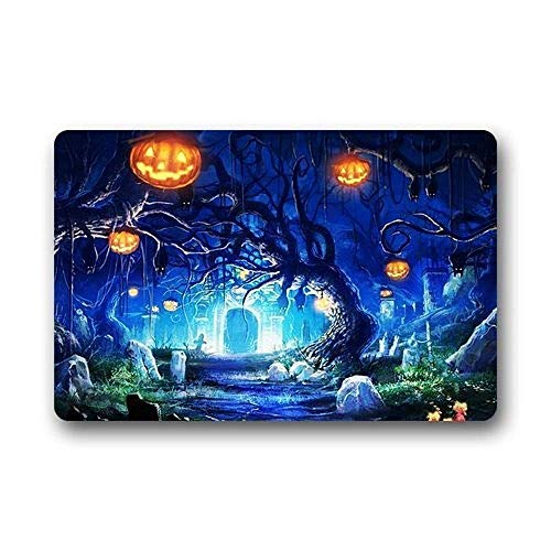 Tuoneng Door Mats Halloween Background Doormat/Gate Pad s/Indoor Bathroom Kitchen Decor Area Rug/Floor Mat ()