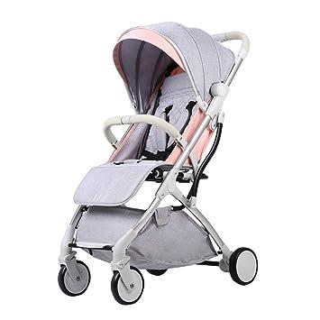 Baby Stroller Carrito de bebé La luz Puede Sentarse ...