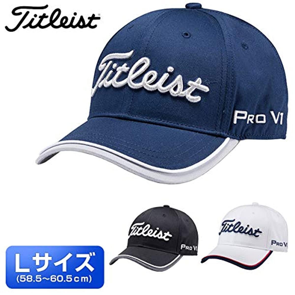 [해외] 타이틀리스트 일본 정규품 투어 골프 캡(엘사이즈) 2020 HJ0CTRL」