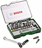 Bosch 2607017160 Coffret clé à cliquet 27 pièces