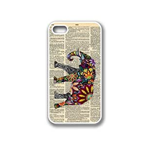 CellPowerCasesTM Elephant on Dictionary iPhone 4 Case White - Fits iPhone 4 and iPhone 4S