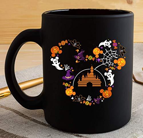 Halloween Disney Mickey Mouse Pumpkin Coffee Mug The Witches Halloween Gift-11OZ Coffee Mug
