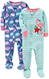 Carter's Baby Girls' 2-Pack Cotton Footed