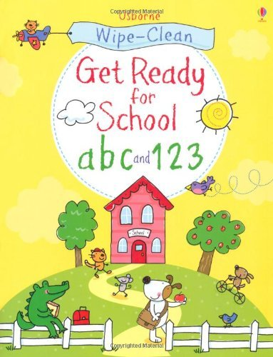 Wipe-clean Get Ready for School ABC and 123 (Wipe Clean Books) by Sam Taplin (2013-07-01)