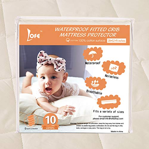 Lofe Cotton Mattress Protector Waterproof product image