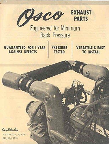- 1963 Chrysler Osco Engine Exhaust Brochure