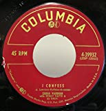 Sarah Vaughan I Confess / A Lover's Quarrel 45 rpm single
