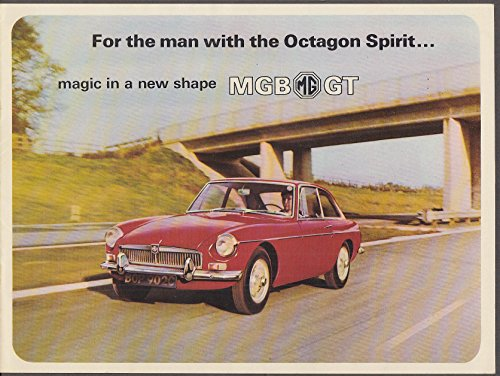 - 1966 MGB/GT sales brochure dated 12/65