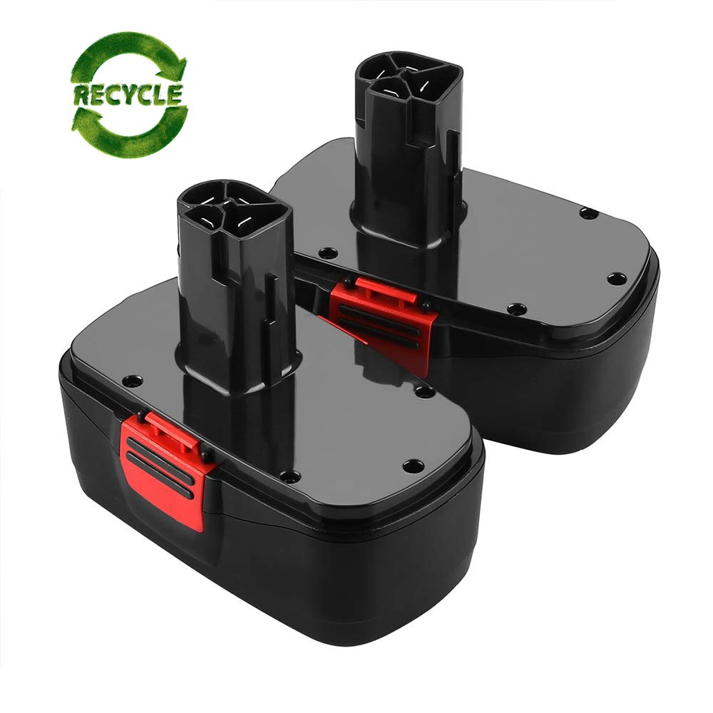 2Packs 19.2Volt 3.0Ah Battery for Craftsman DieHard C3 315.115410 315.11485 Cordless Drill Tool Battery