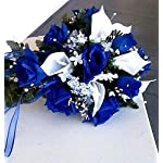 BalsaCircle-252-Royal-Blue-Silk-Open-Roses-36-Bushes-Artificial-Flowers-Wedding-Party-Centerpieces-Arrangements-Bouquets-Supplies