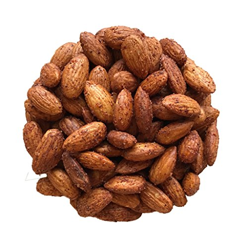 California Chile Blend Smoked Almonds - 18 oz Jar - by AgStandard Almonds - Non GMO - Vegan - Gluten-free - Made without Refined Sugar