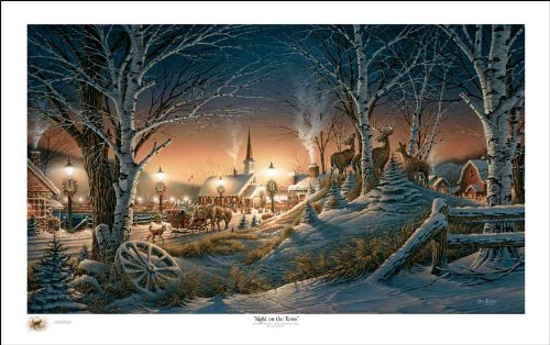 Wild Wings Night On The Town Holiday by Terry Redlin Limited Edition Print of 2012 Signed & Numbered