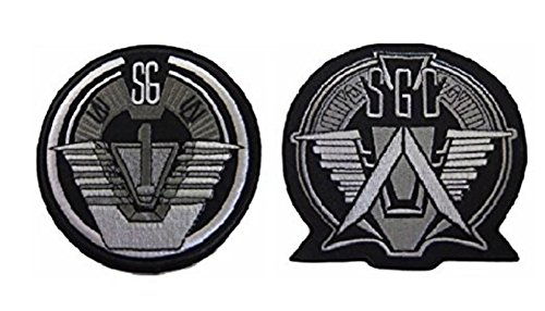Stargate SG-1 Uniform/Costume Cosplay Patch Set of 2 - Captain America Avengers 2 New Costume