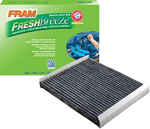 FRAM CF11174 Fresh Breeze Cabin Air Filter with Arm & Hammer