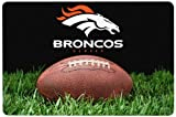 GameWear NFL Denver Broncos Classic Football Pet Bowl Mat, Large