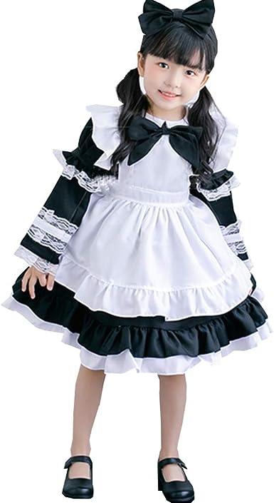 Christmas Dress for Girls Toddler Christmas Dress Princess Dress Christmas Costume Christmas Cosplay for Child Lolita Dress