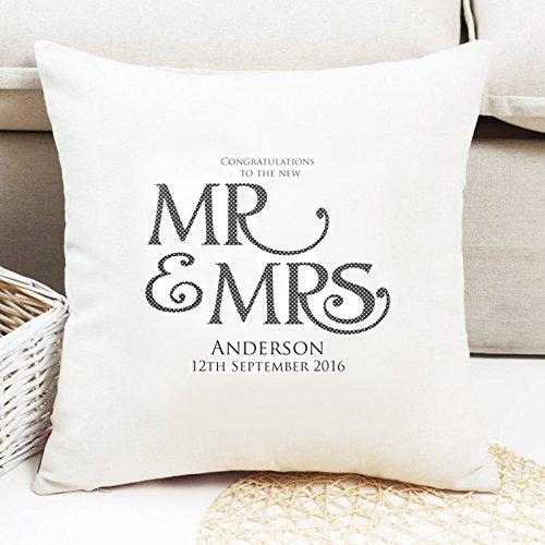 Personalizado el Señor y la señora cojín * Gran regalo de ...