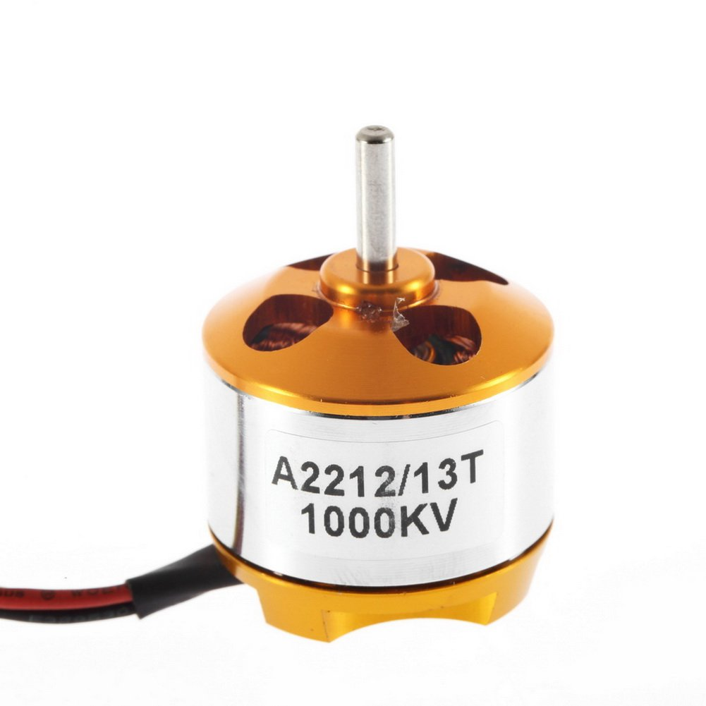Water & Wood A2212 Kv1000 Brushless Motor For Rc Multirotor Aircraft Model Airplane Hobby