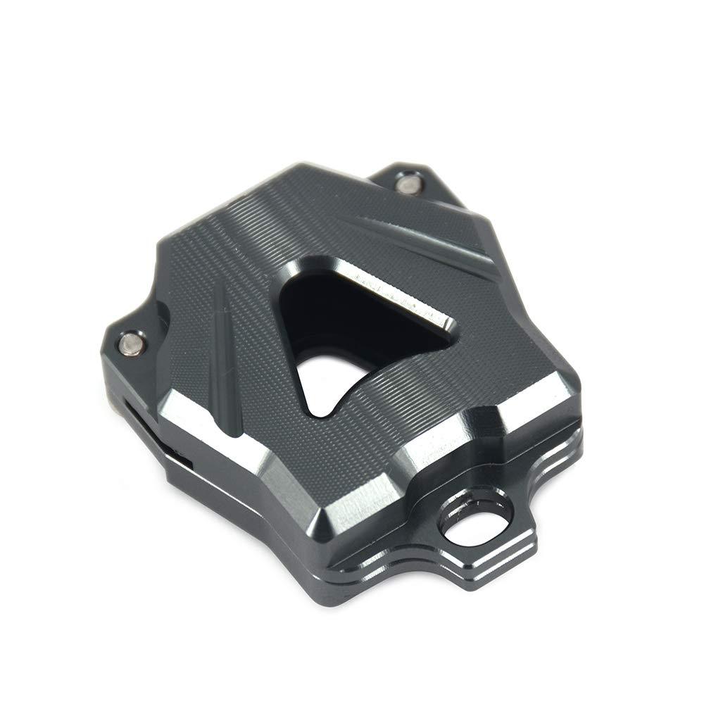 Bleu /pour YZF R1/R3/R6/FZ1/FZ4/FZ6/FZ8/XJ6/XJR MT03/Mt07/Mt09 JFG RACING en Aluminium CNC Yamaha caches Coque de cl/é pour cl/é de Moto/