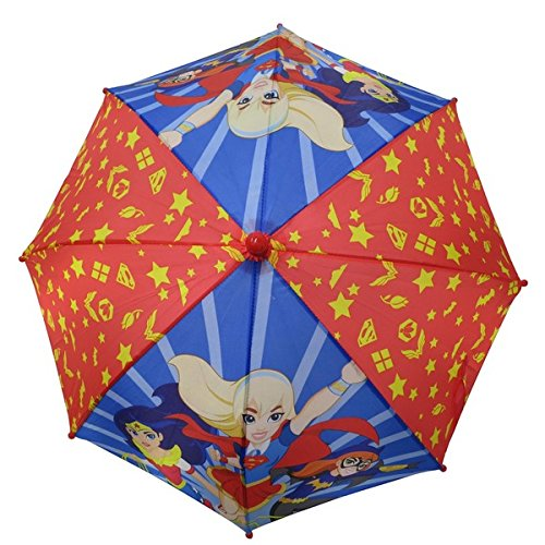 DC Comics Superhero Girl's Red Umbrella]()