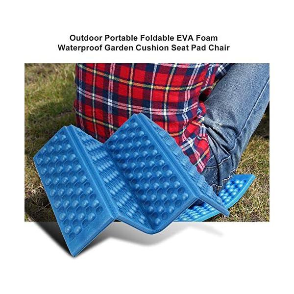 Goldyqin Outdoor Portatile Pieghevole Schiuma Eva Impermeabile e Resistente all'umidità Giardino Cuscino Sedile Sedia… 3 spesavip