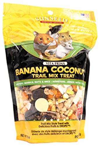 51Zv47itzyL - Vitakraft Vita Prima Banana Coconut Trail Mix Treat 5 oz.