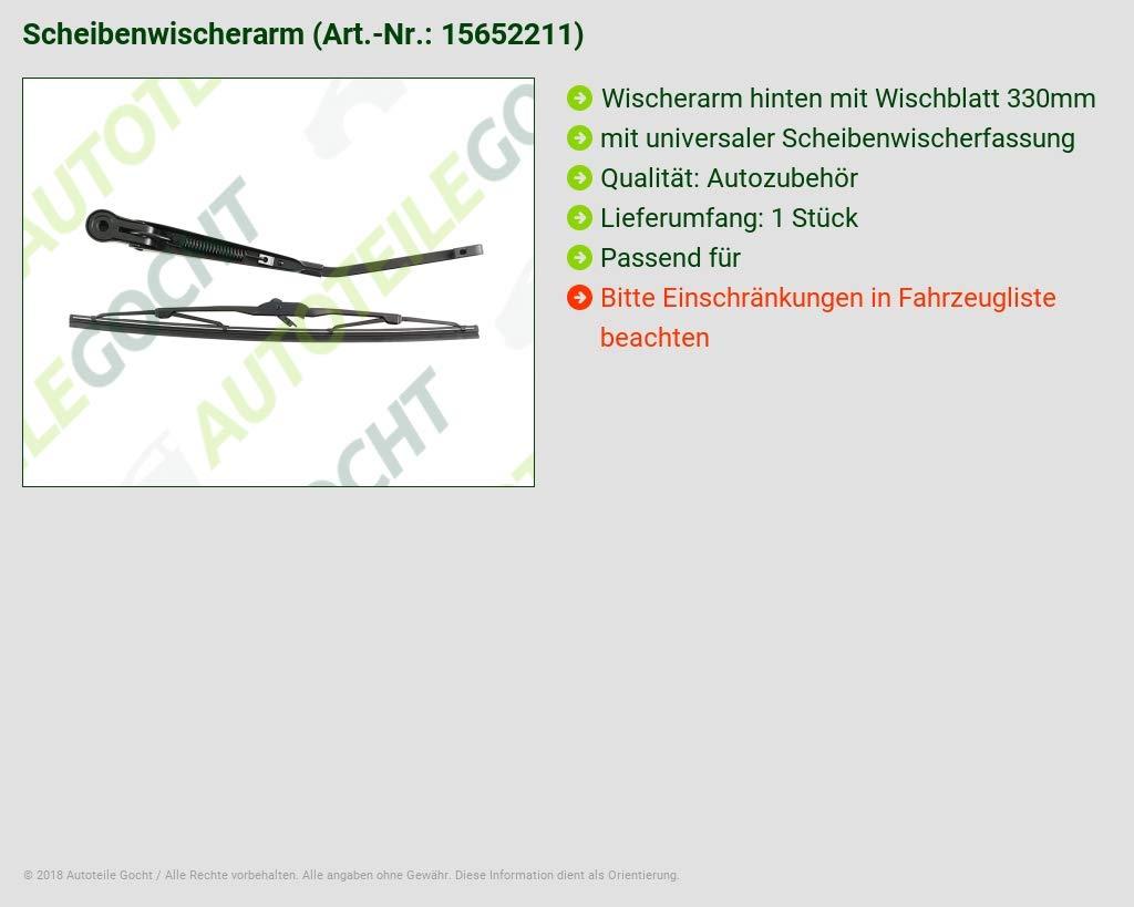 Raclette Bracelet M essuie-glace pare-brise arri/ère arri/ère