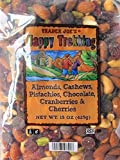 Trader Joe's Happy Trekking Almonds, Cashews, Pistachios, Chocolate, Cranberries & Cherries - 15 oz, (Pack of 2)