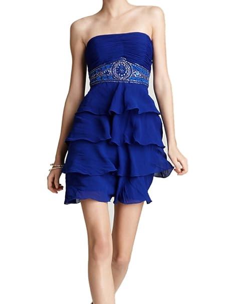 7e0d5553418 Amazon.com  Studio S.W. Sue Wong Women s Strapless Cocktail Dress 8 ...