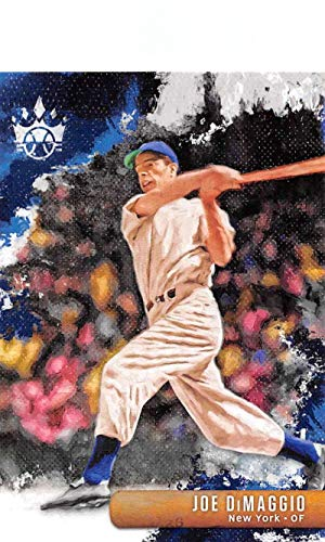 2019 Diamond Kings Baseball #19 Joe DiMaggio New York Yankees Official MLBPA Trading Card From Panini ()