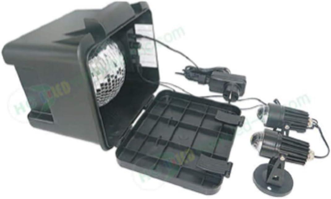 Galix Proyector de LED con Motor – Efecto Nieve: Amazon.es: Jardín