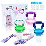 3PCS Nipple Fresh Food Milk Nibbler Feeder Feeding Tool Safe Baby Supplies Toys