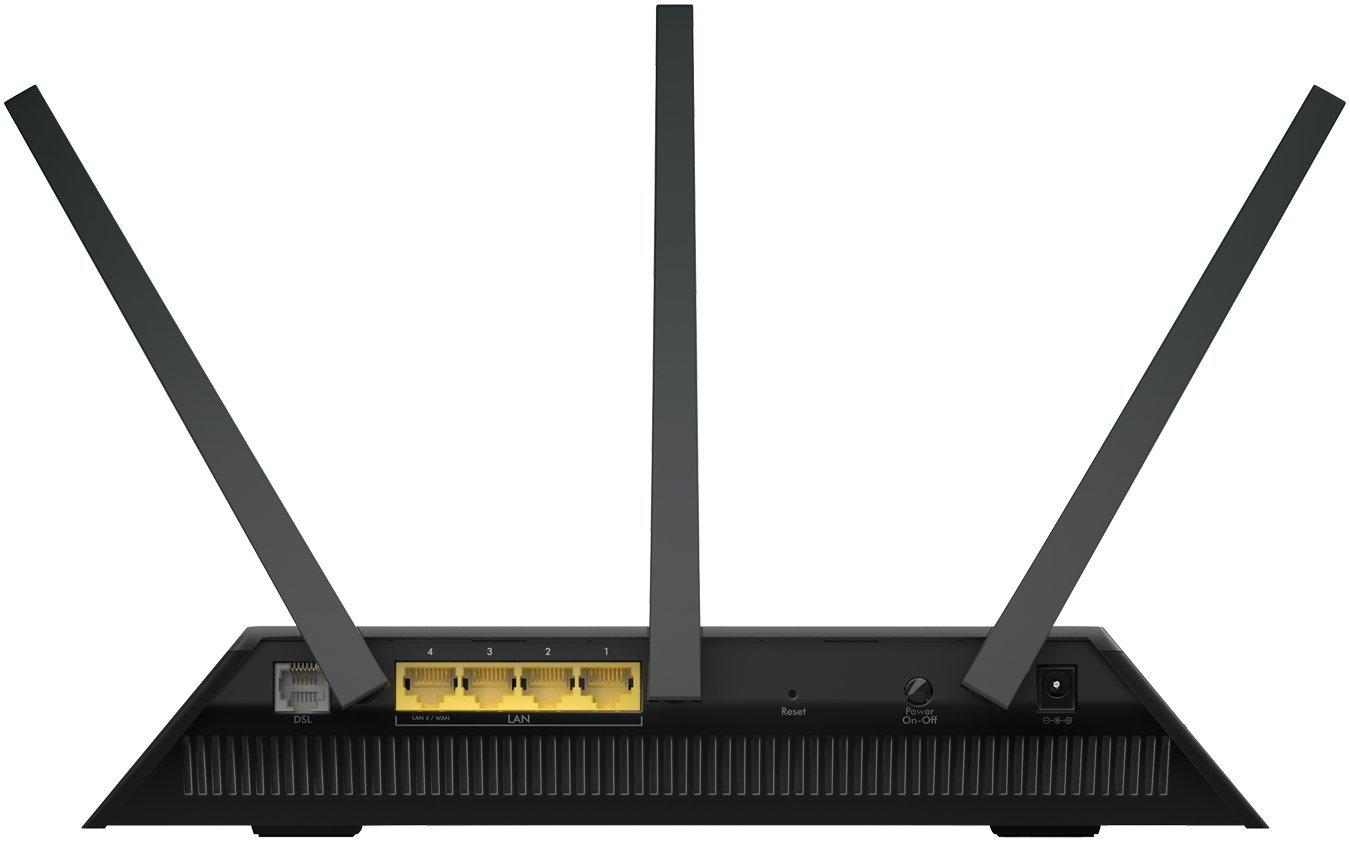 VDSL//ADSL Modem-Black NETGEAR DM200-100EUS High-Speed Broadband DSL