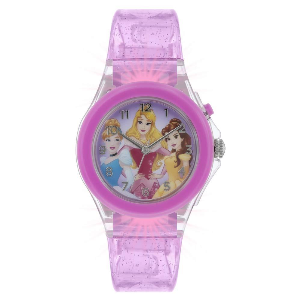 Disney Princess Reloj Analógico para Niñas de Cuarzo con Correa en ...