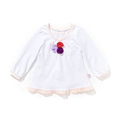 Amazon Com Girls White Pintuck White Blouse Infant And Toddler