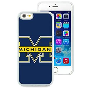 Lovely And Popular Designed Case For iPhone 6 4.7 Inch TPU With michigan wolverines (2) Phone Case