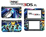 Star Fox 64 3D Falco Peppy Slippy Andross Video Game Vinyl Decal Skin Sticker Cover for the New Nintendo 3DS XL LL 2015 System Console