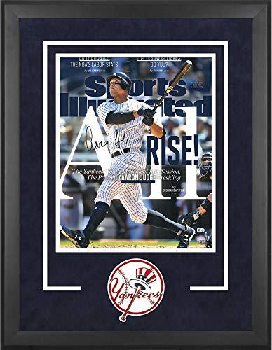 Aaron Judge New York Yankees Deluxe Framed Autographed 16