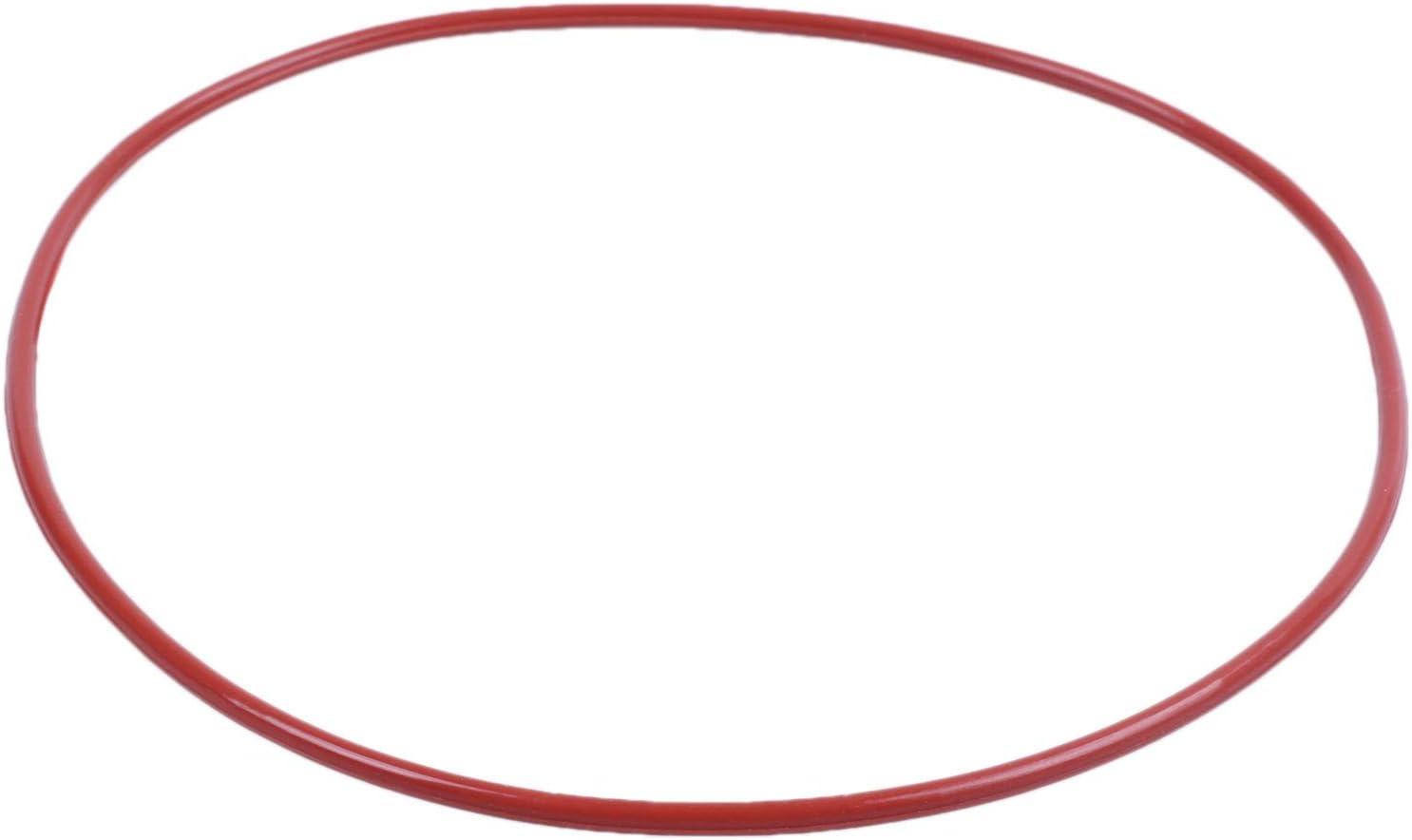 Monland 100 Mm X 96 Mm X 2 Mm Joints Toriques en Silicone Rouge