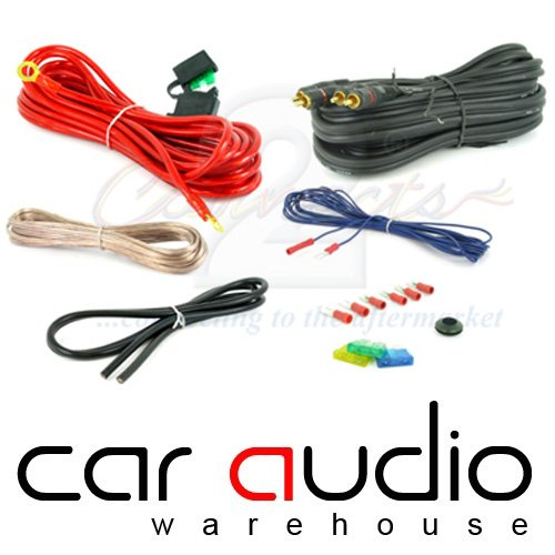 1200 watt 8 Gauge (AWG) Complete Car Amplifier Wiring Kit T1 Audio AK8