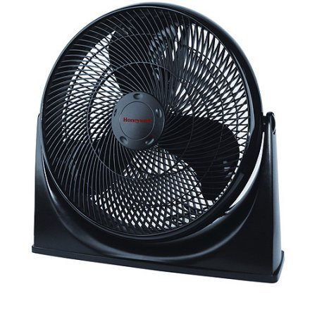 Honeywell 3 Speed Turbo Force Portable Cooling Air Circulator Heater Floor Fan- MultiColor