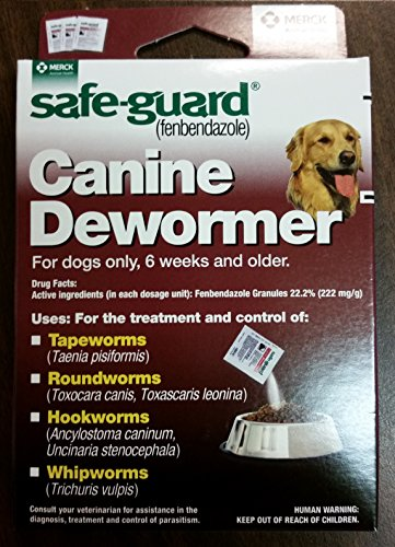 51Zv9OfkxfL - 8in1 Safe Guard Canine Dewormer for Large Dogs, 4-Gram (Pack of 2)