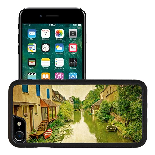 Liili Apple iPhone 7 iPhone 8 Aluminum Backplate Bumper Snap iphone7/8 Case iPhone6 IMAGE ID 31966250 Vintage Antique Village in france Europe
